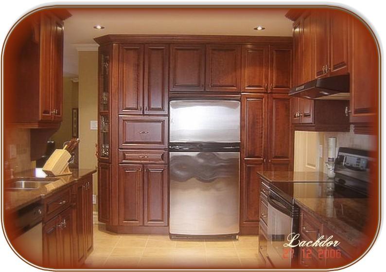 Armoire salle de bain lot comptoir cuisine bois for Armoire salle de bain en bois